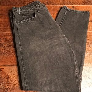 Men's Levi Black Faded Jeans